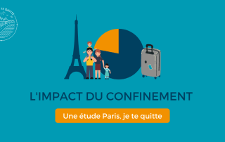 étude impact confinement quitter paris