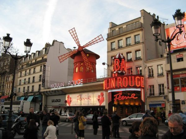 Мулен Руж: описание, история, фото   Paris-Life.info