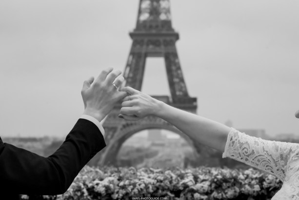 rings arms and the eiffel tower