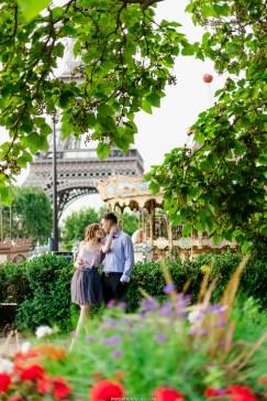 фотограф в Париже. Эйфелева башня фотосет