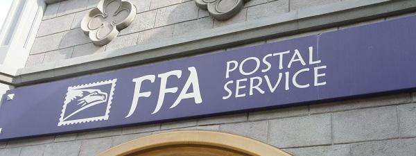Far Far Away Postal Service à Universal Studios Singapour