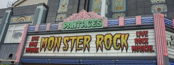 Monster Rock à Universal Studios Singapour