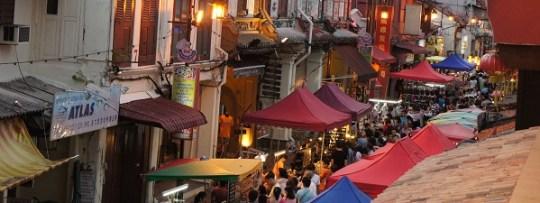 Jonker Street à Malacca