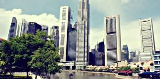 Singapour, Financial District - Photo de Sylvie (Beginners in Asia)