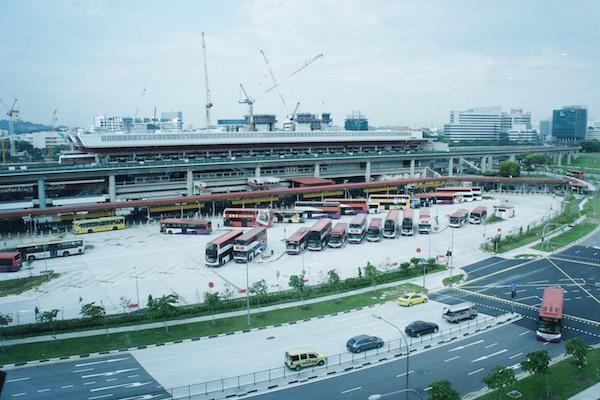 Transports en commun à Singapour