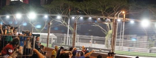 Grand prix de F1 de Singapour - Gradins