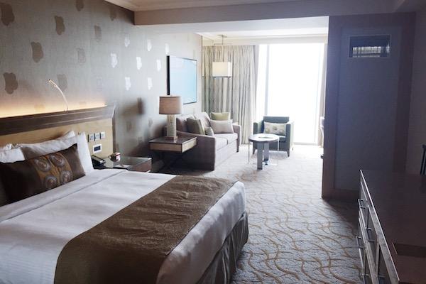 Chambre Hotel Marina Bay Sands