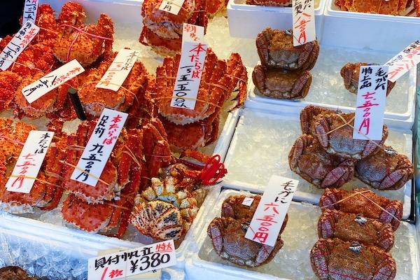 Nijo Fish Market Sapporo
