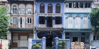 NUS Baba house Peranakan Singapour