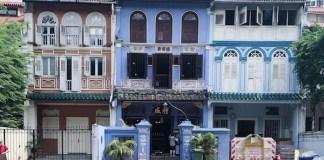 NUS Baba house Peranakan Singapour