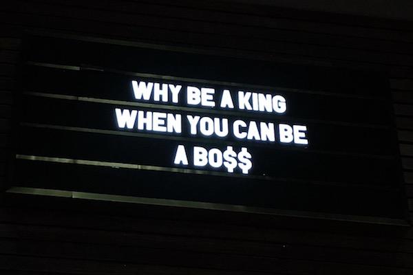 Boss ou King