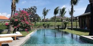 Piscine villa a louer Bali