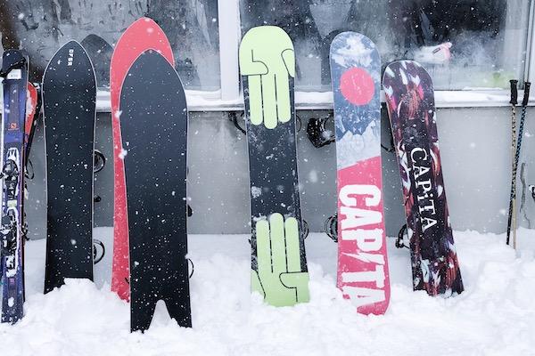 Snowboards Japon Rusutstu