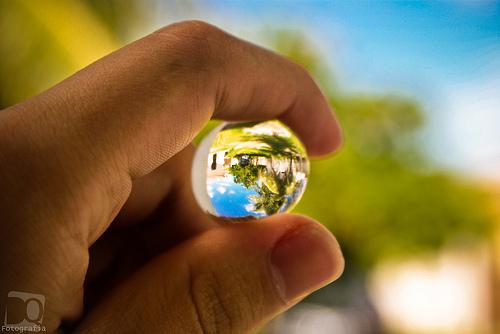 cristal ball photo