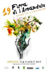 affiche fiera amandulu 2015