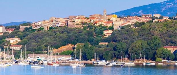 Porto-Vecchio, coastal cityscape, Corsica island