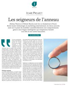 icare project article