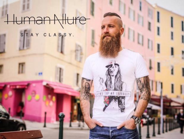 human allure tee-shirt