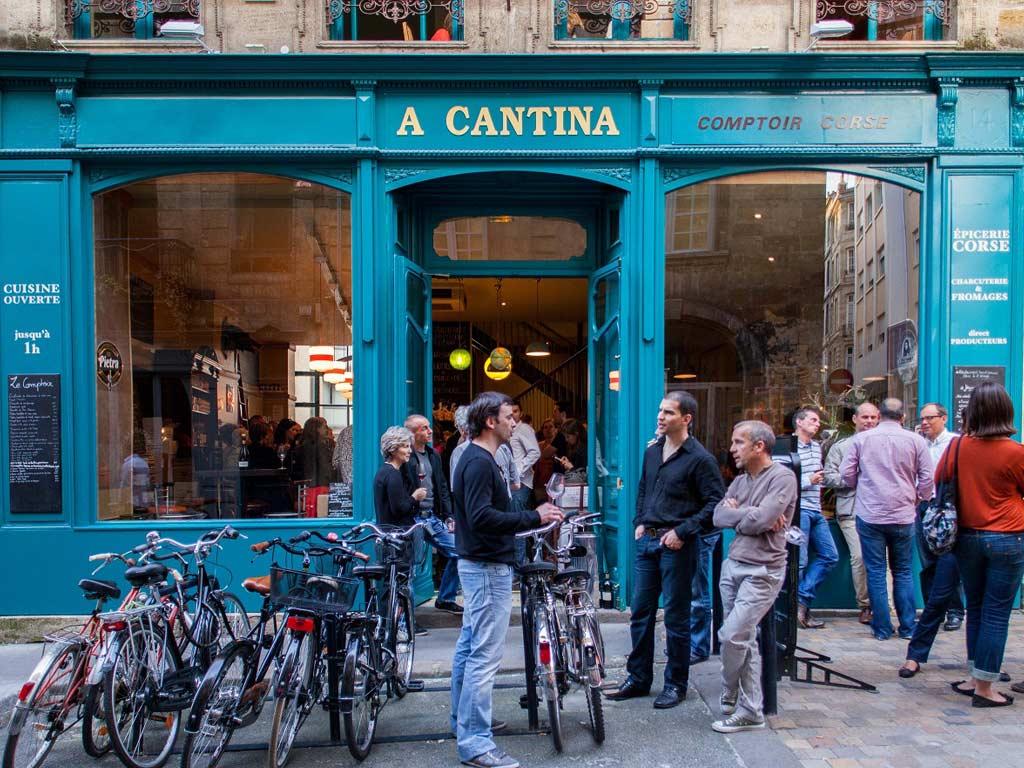 Restaurant Corse Bordeaux Rue Des Bahutiers