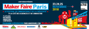 Bannière 600x200 - Maker Faire Paris 2018