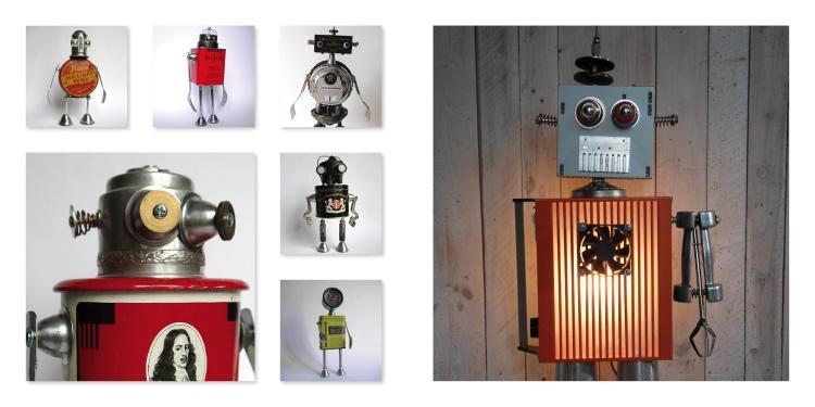 Gille Monte Ruici : créateur de robots