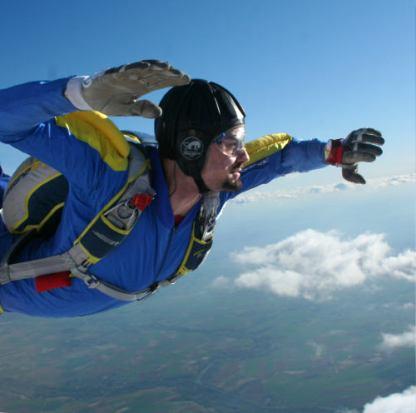Saut Pac parachute