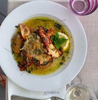 Restaurant Atlantis à Caniço, le mielleur que nous avons testé sur l'île