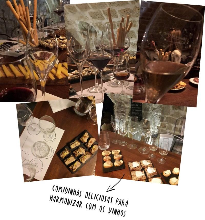 vinhos e aperitivos