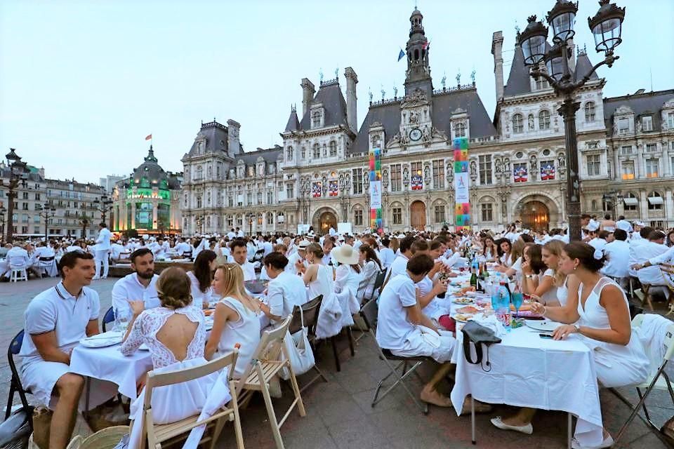 Dîner en Blanc 2017: jantar único em Paris