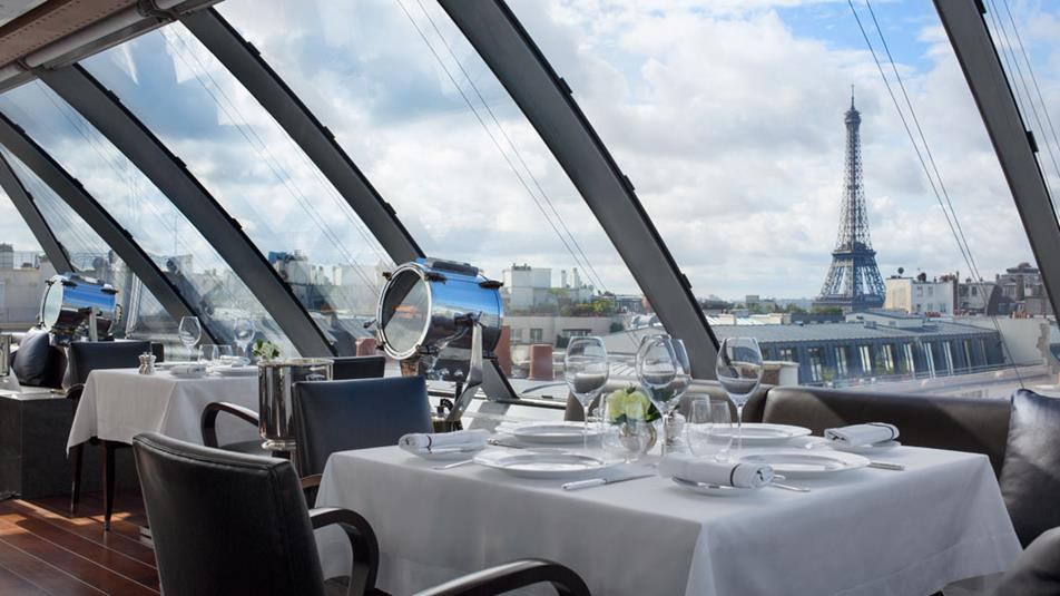 7 Restaurantes com vista para a Torre em Paris