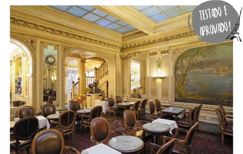 salões de chá em Paris