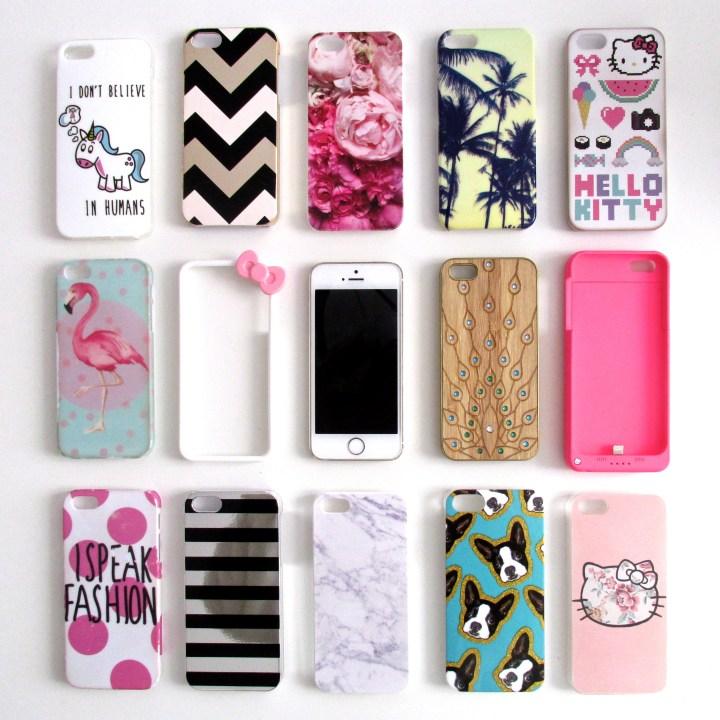 collection de coques d iphone 5s
