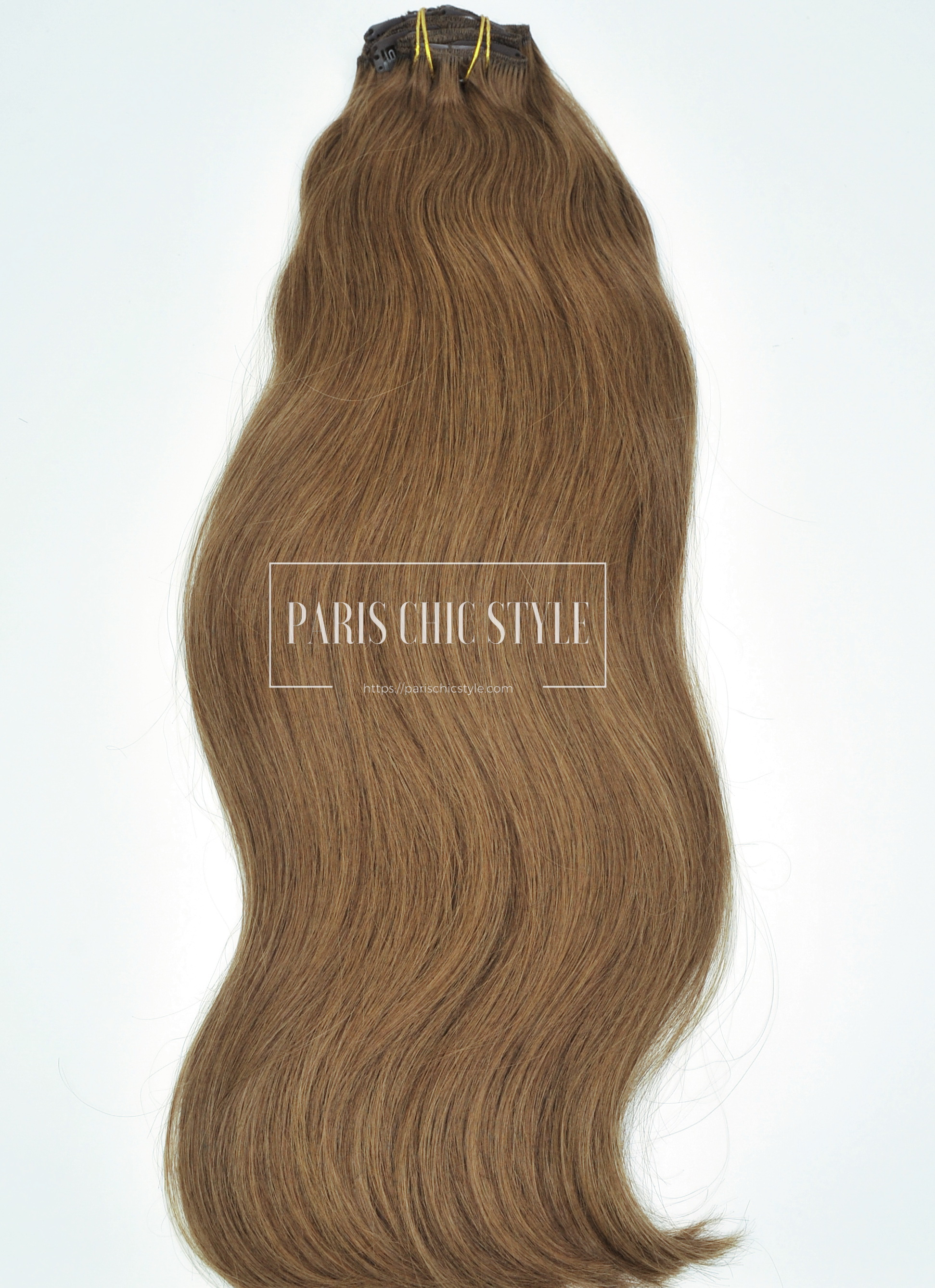 Clip In Hair Extensions Chestnut Brown 6 120 Grams 20 24