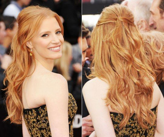 Best hair extensions for thin hair chic luxurious paris chic this is a style that the thicker maned ladies among us probably take for granted but have you ever tried to wear your hair half up and half down when you pmusecretfo Choice Image