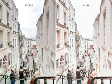 Paris France Lightroom Presets 1.1 Rose Gold Paris Chic Style Blog Travel Lifestyle Instagram Before & After 4