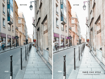 Paris France Lightroom Presets 1.1 Rose Gold Paris Chic Style Blog Travel Lifestyle Instagram Before & After 6