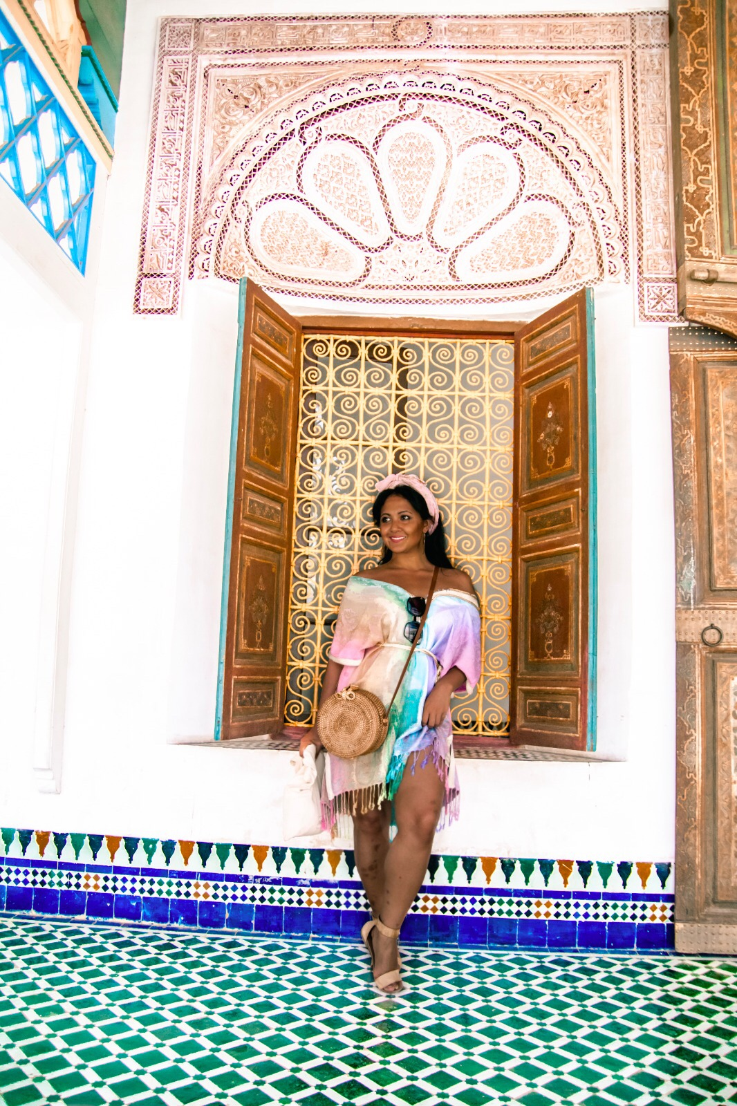 What To Wear In Morocco Marrakech Kaftan Dress Paris Chic Style 2