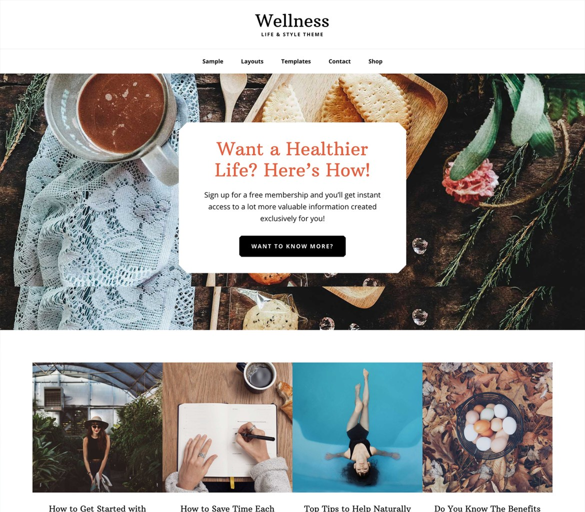 How to start a blog lifestyle finance travel fashion food blogger fitness health beauty beginners easy tutorial Best Theme For Blogs Site StudioPress Themes Paris Chic Style 2