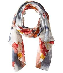 Best Scarf For Dresses Vince Camuto Floral Photo Clash Oblong Paris Chic Style 6