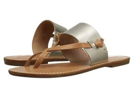 What Color Shoes To Wear With A Red Dress Two Tone Mixed Color Shoes Soludos Slotted Thong Sandal Paris Chic Style 7