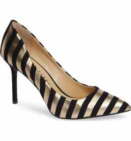 What Color Shoes To Wear With A Red Dress Two Tone Mixed Color Shoes The Sissy Pump KATY PERRY Paris Chic Style 5