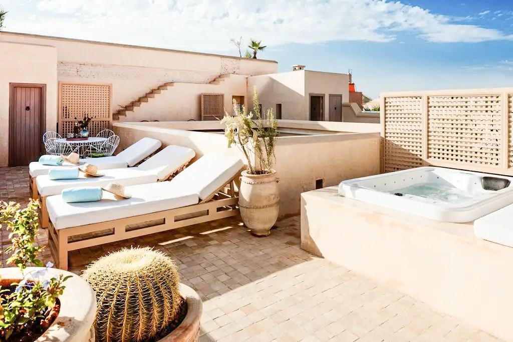 paris chic style best riads in marrakech morocco riad 72