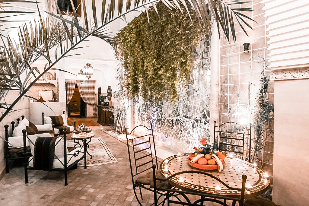 Paris Chic Style Best Riads In Marrakech Morocco Riad El Bellar 4