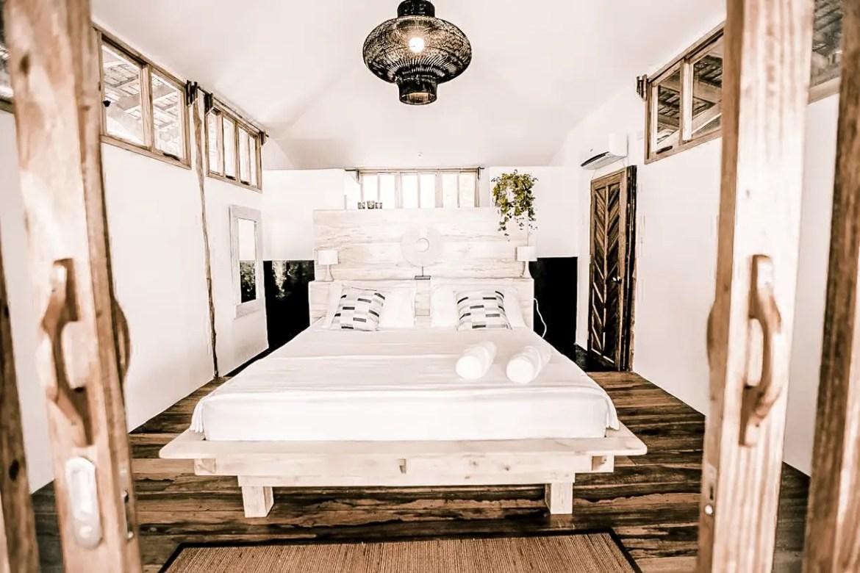 where to stay in el nido palawan el nido hotels beachfront maligaya beach bungalows paris chic style