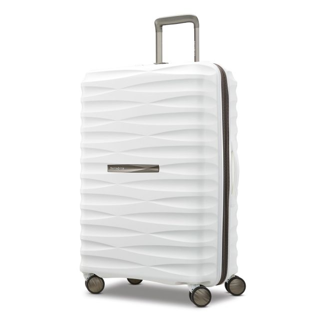 Paris Chic Style Best Travel Luggage Check In Checked Lightweight Suitcase Stylish Samsonite Voltage DLX 2522 Spinner