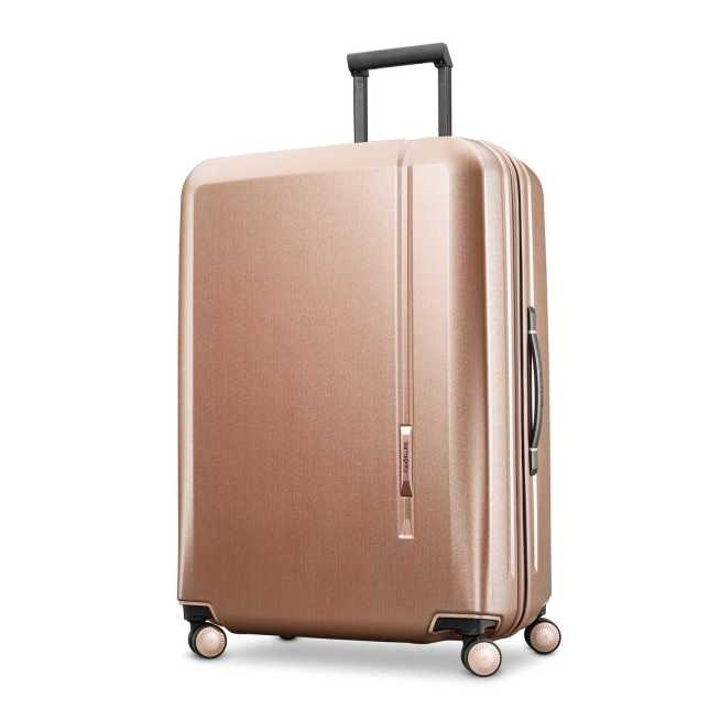 Paris Chic Style Best Travel Luggage Check In Checked Lightweight Travel Suitcase Stylish 4 Wheels Spinner Hard Shell hardcase luggage Samsonite Novaire 28 Spinner 10