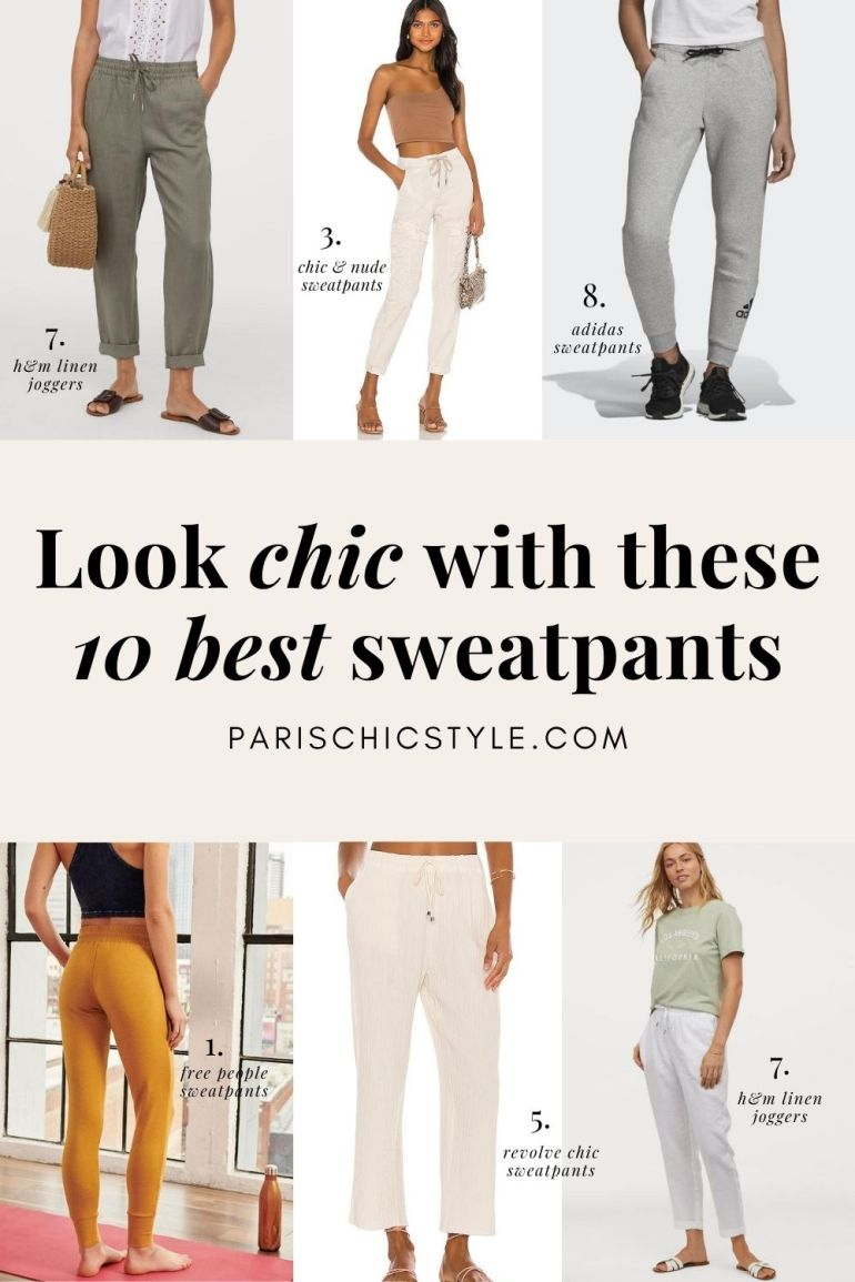Best Sweatpants For Women Chic Comfortable Style With Pockets Paris Chic Style