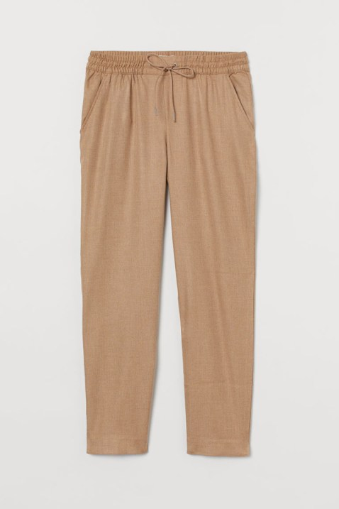 Nude Sweatpants For Women Joggers Trackpants For Going Out Walking Training Chic Sweatpants H&M Paris Chic Style