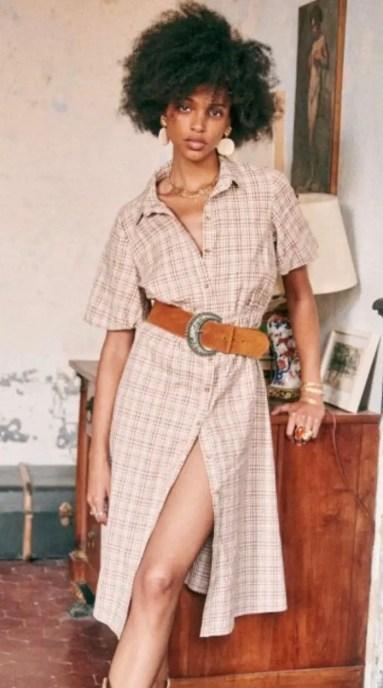 French Clothing Brand Parisian Style Dress Paris Chic Style Sezane