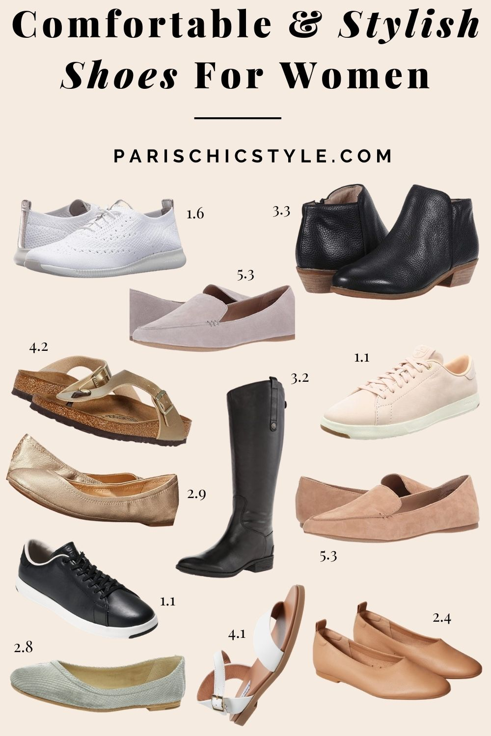 52 Most Comfortable Shoes For Women For